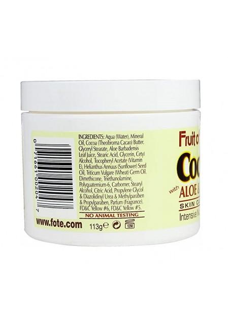 Крем Какаово Масло, Алое & Витамин Е  - при суха, напукана кожа, стрии 113гр.
