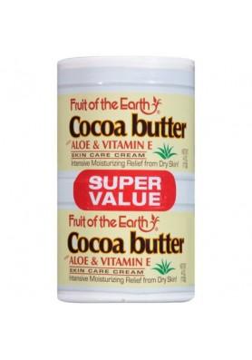 Крем Какаово Масло, Алое & Витамин Е  - при суха, напукана кожа, стрии, изгоден пакет 2бр. по 113гр.