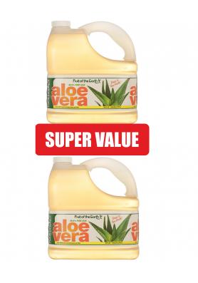 Сок Алое Вера 99.8% от вътрешен гел - изгоден пакет: 2 бр. по 3.8 литра /17.10 лв. на литър/