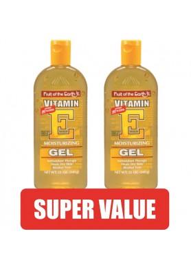 Гел 100% Алое Вера, обогатен с Витамин Е за лице, тяло, коса и скалп изгоден пакет: 2бр. по 340гр.